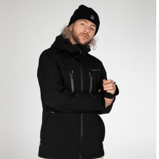 Protest TIMO Mens Ski Snowboard Jacket Black