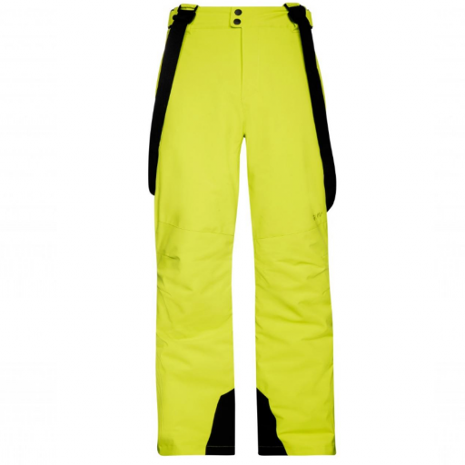 PROTEST OWENS Mens Ski Board Salopettes Pants SHORT LEG LIME ROCKS (Citrus)