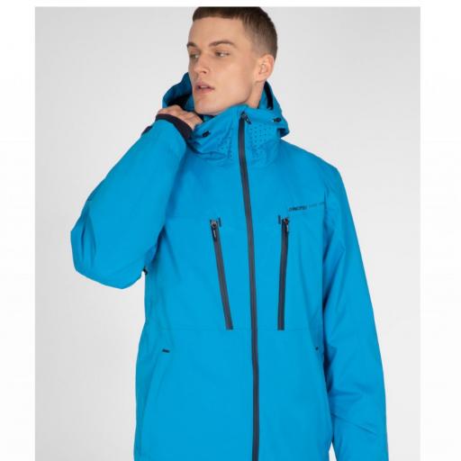 Protest TIMO Mens Ski Snowboard Jacket Marlin Blue