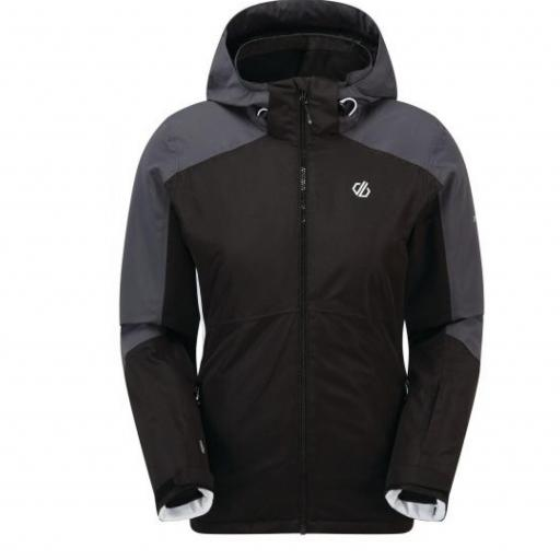 Dare2b RADIATE BLACK Womens Ski Jacket Plus size