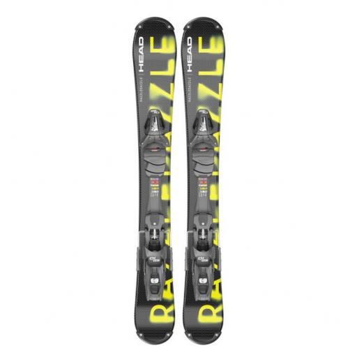 HEAD RAZZLE DAZZLE 94cms Ski blade mini ski inc Full Release bindings 2021/22